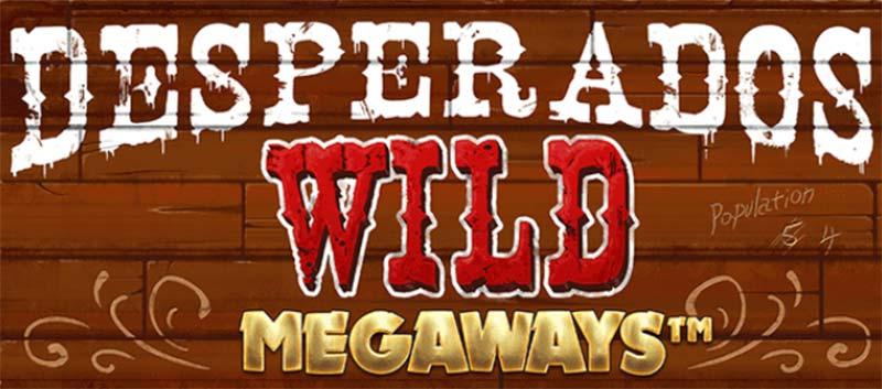 Desperados Wild Megaways Slot Logo