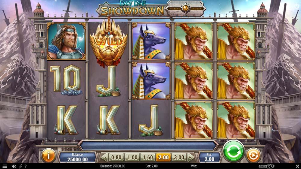 Divine Showdown Slot - Base Game