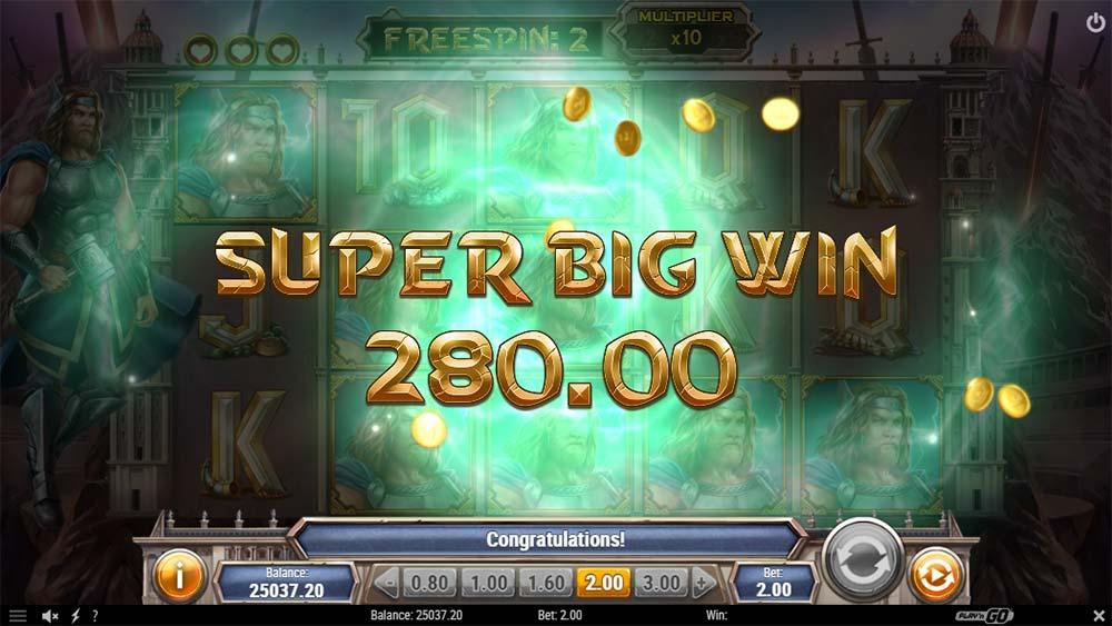 Divine Showdown Slot - Super Big Win