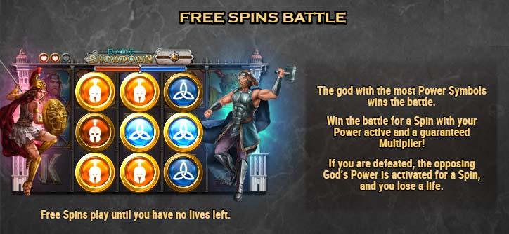 Divine Showdown battle