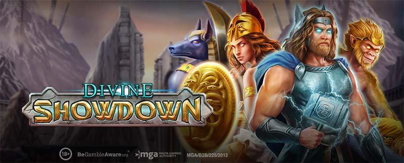 Divine Showdown Slot Logo