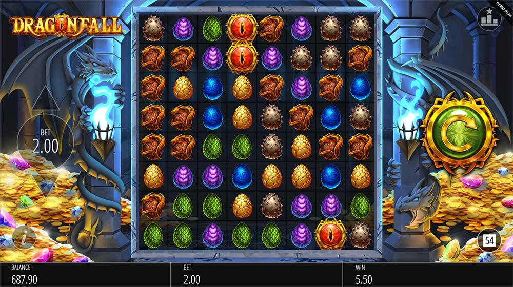 Dragonfall Slot - Bonus Triggered