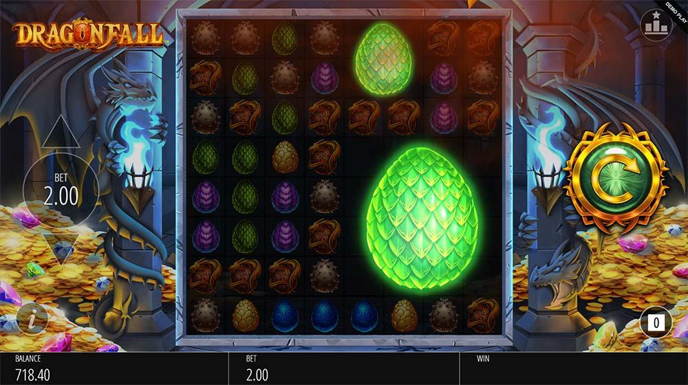 Dragonfall Slot - Colossal Symbols