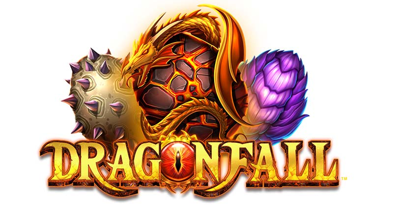 Dragonfall Slot Logo