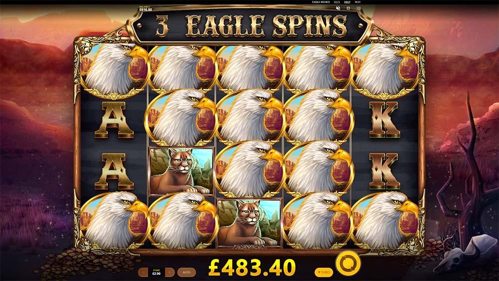 Eagle Riches Slot - High Paying Symbols