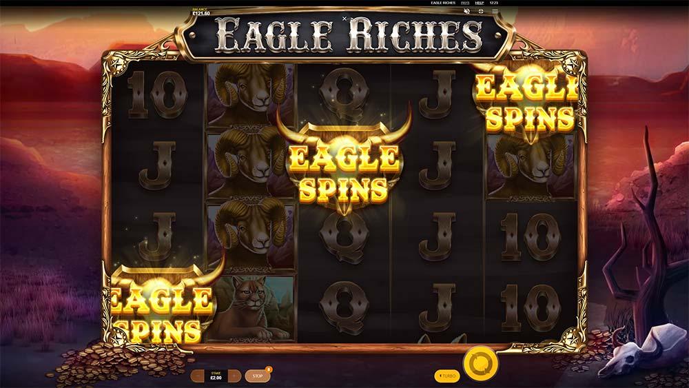 Eagle Riches Slot - Bonus Trigger