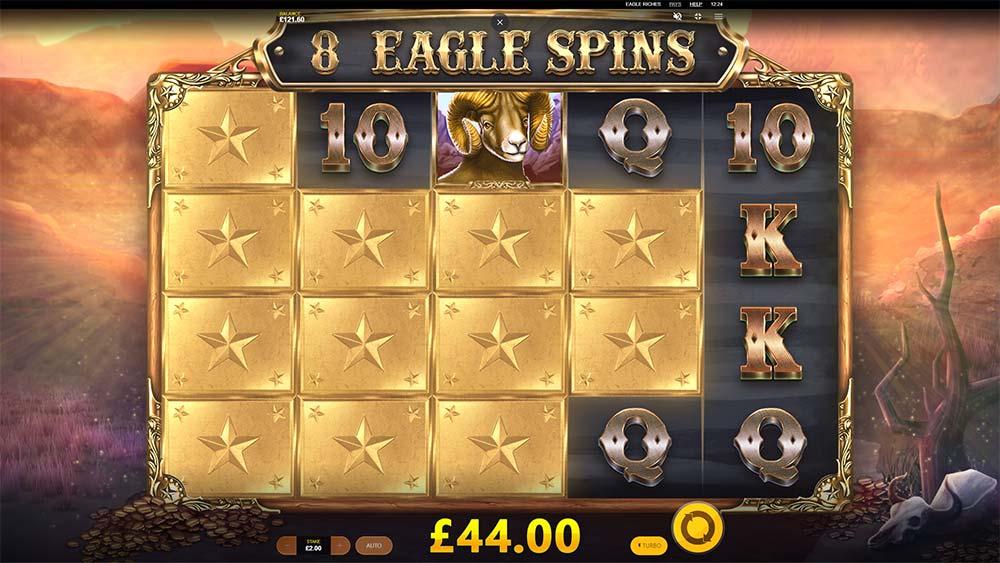 Eagle Riches Slot - Guaranteed Symbol Win
