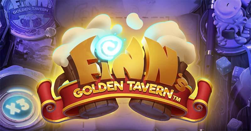 Finn's Golden Tavern Slot Logo