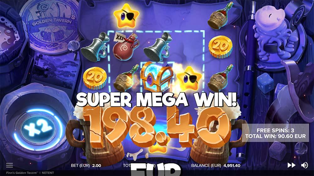 Finn's Golden Tavern Slot - Super Mega Win
