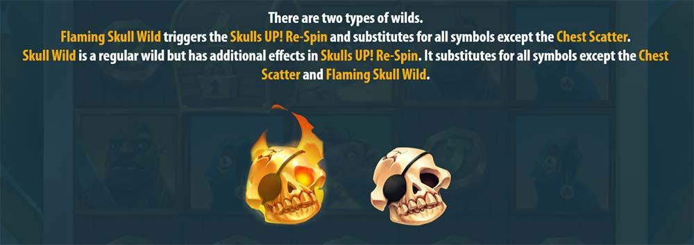 Flaming Skull Re-Spins
