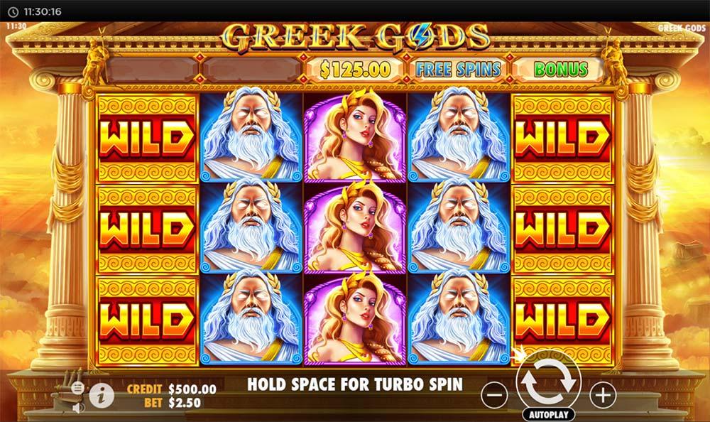 Greek Gods Slot - Base Game