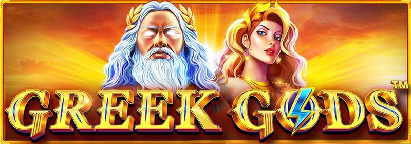 Greek Gods Slot Logo