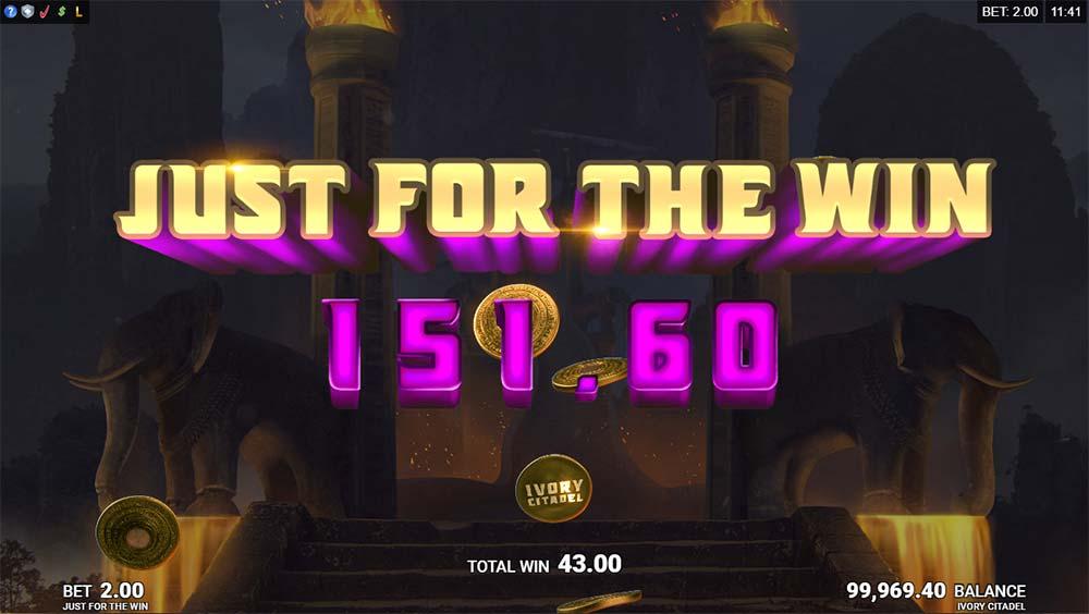 Ivory Citadel Slot - Big Win