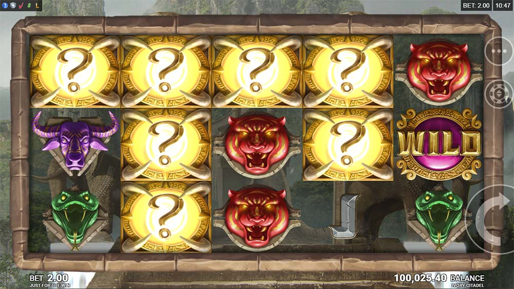 Ivory Citadel Slot - Mystery Symbols