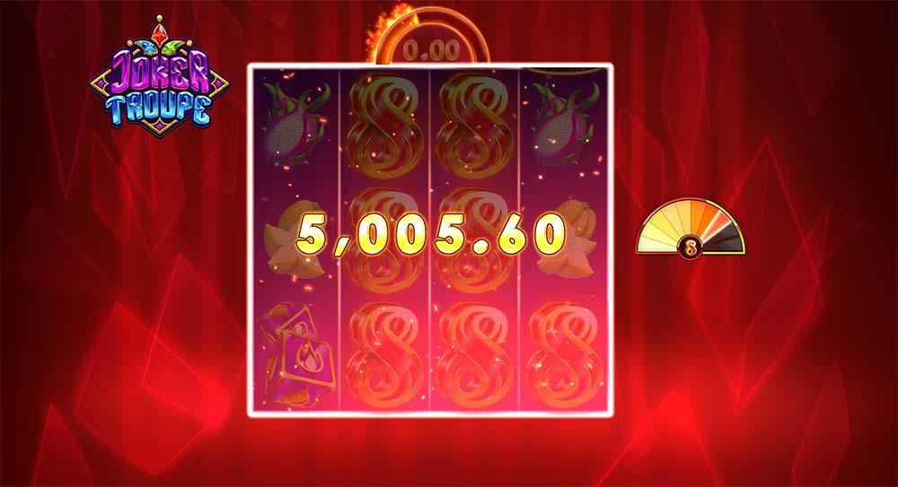 Joker Troupe Slot - Huge Win
