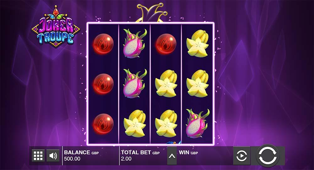 Joker Troupe Slot - Base Game