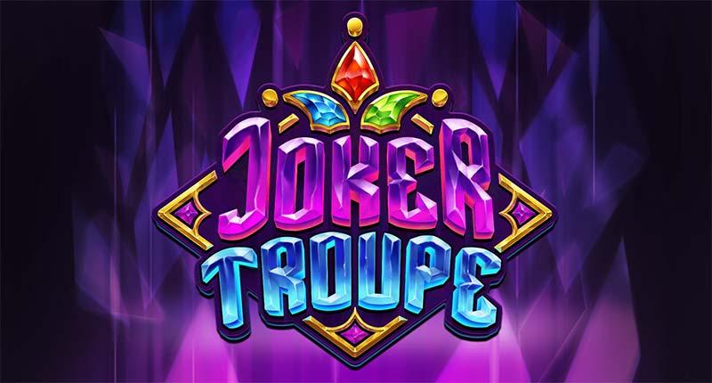 Joker Troupe Slot Logo