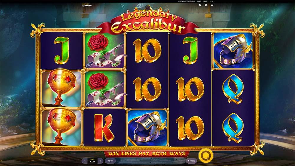 Legendary Excalibur Slot - Base Game