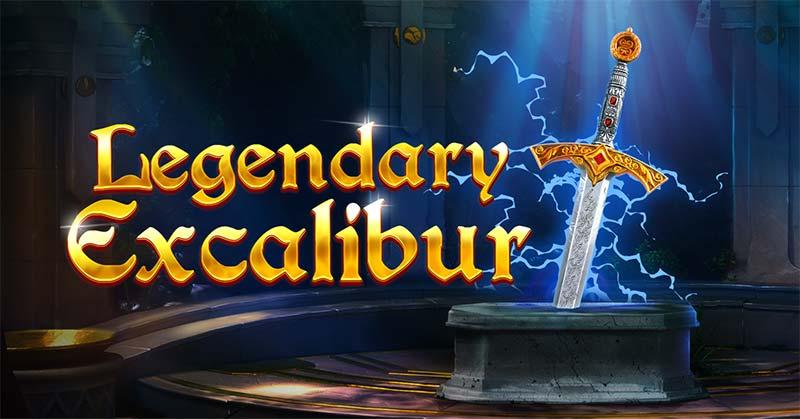 Legendary Excalibur Slot Logo