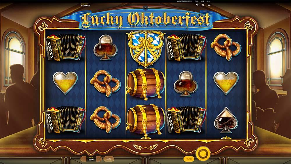Lucky Oktoberfest Slot - Base Game