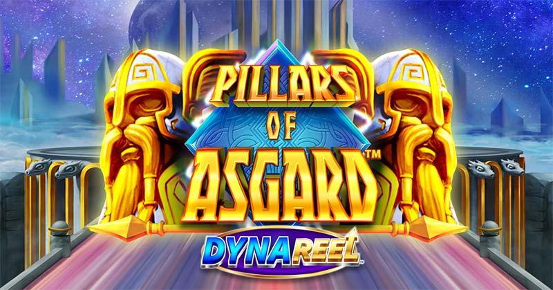 Pillars of Asgard Slot Logo