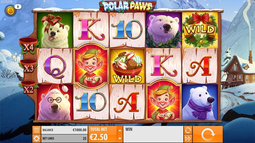 Polar Paws Slot - Base Game
