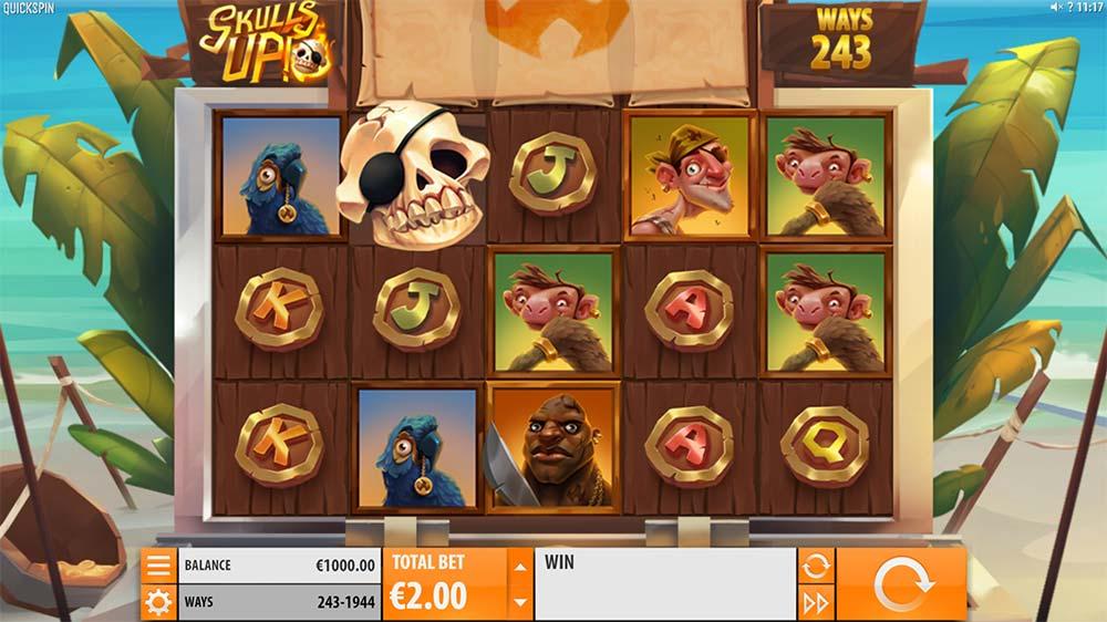 Skulls Up Slot - Base Game