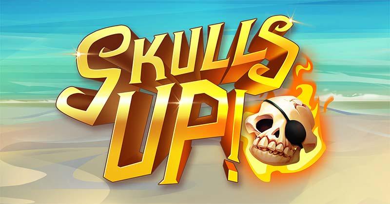 Skulls Up Slot Logo