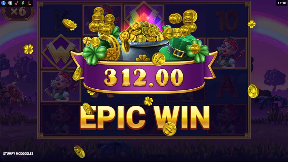 Stumpy McDoodles Slot - Epic Win