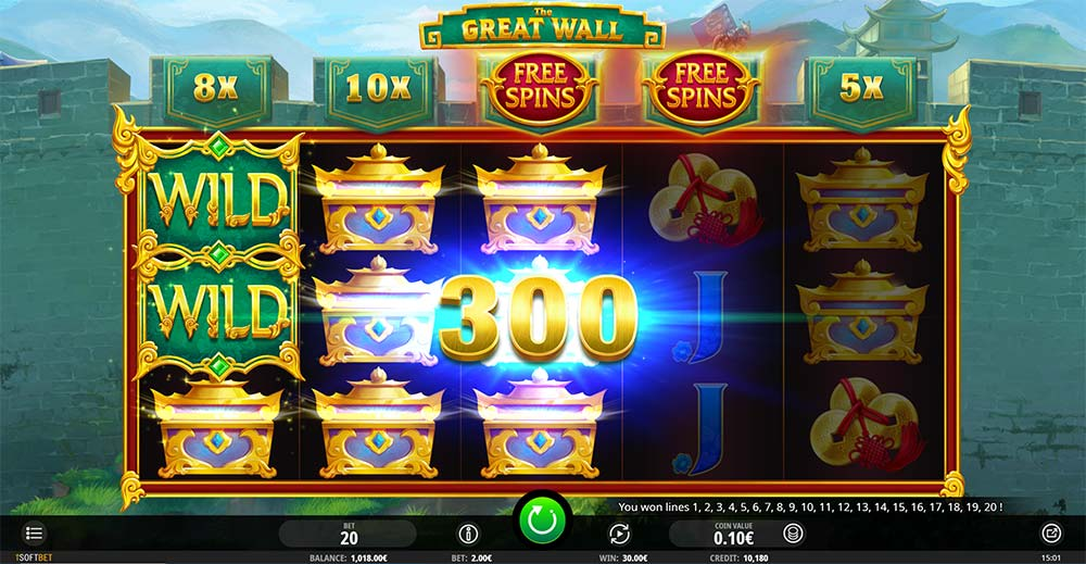 The Great Wall Slot - Base Game