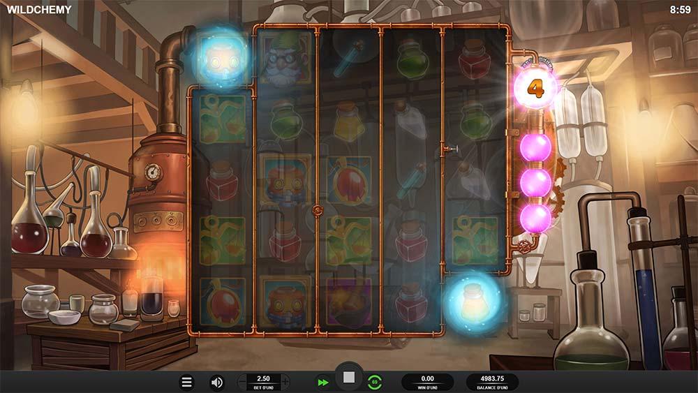 Wildchemy Slot - Bonus Trigger