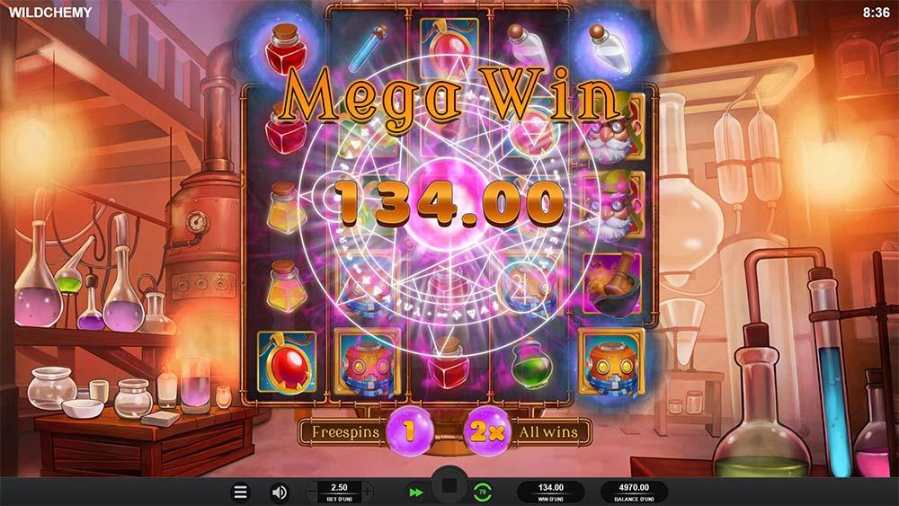 Wildchemy Slot - Mega Win