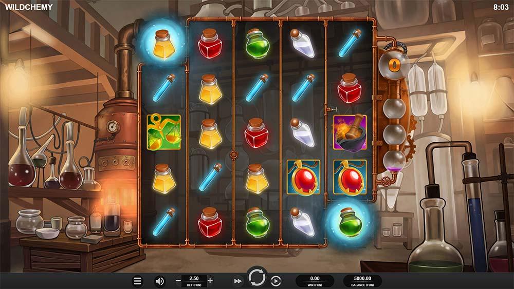 Wildchemy Slot - Base Game