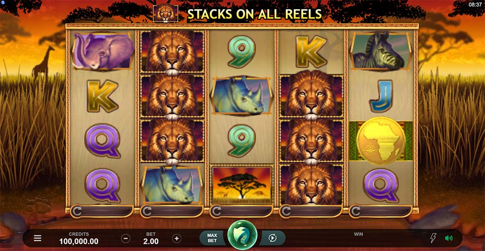 African Quest Slot - Base Game