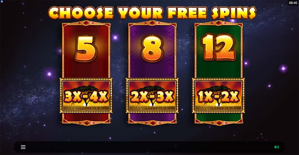 African Quest Slot - Free Spins Options