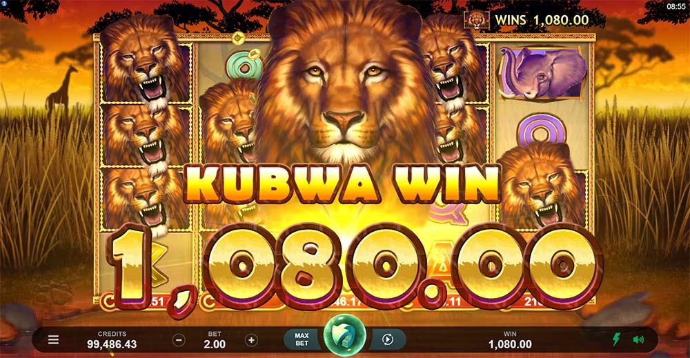 African Quest Slot - Big Win