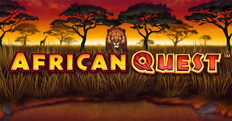 African Quest Slot Logo