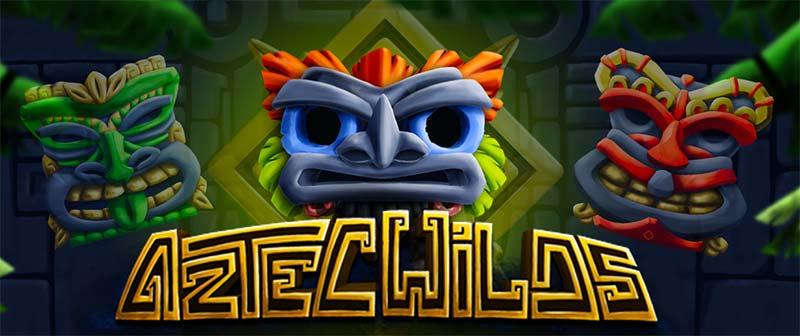 Aztec Wilds Slot Logo