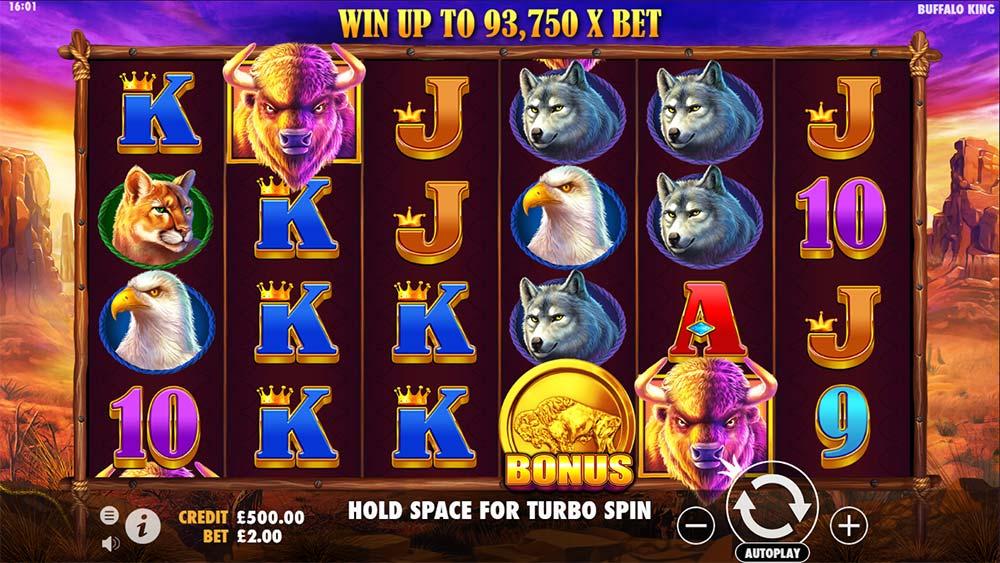 Buffalo King Slot -Base Game