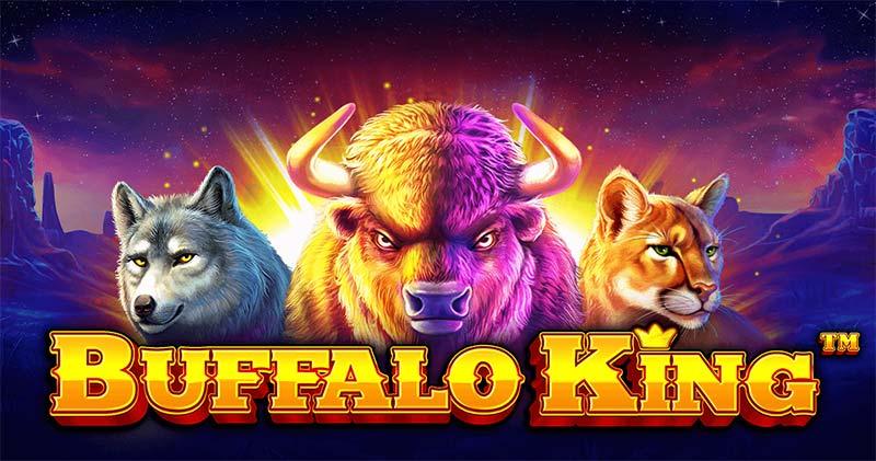 Buffalo King Slot Logo