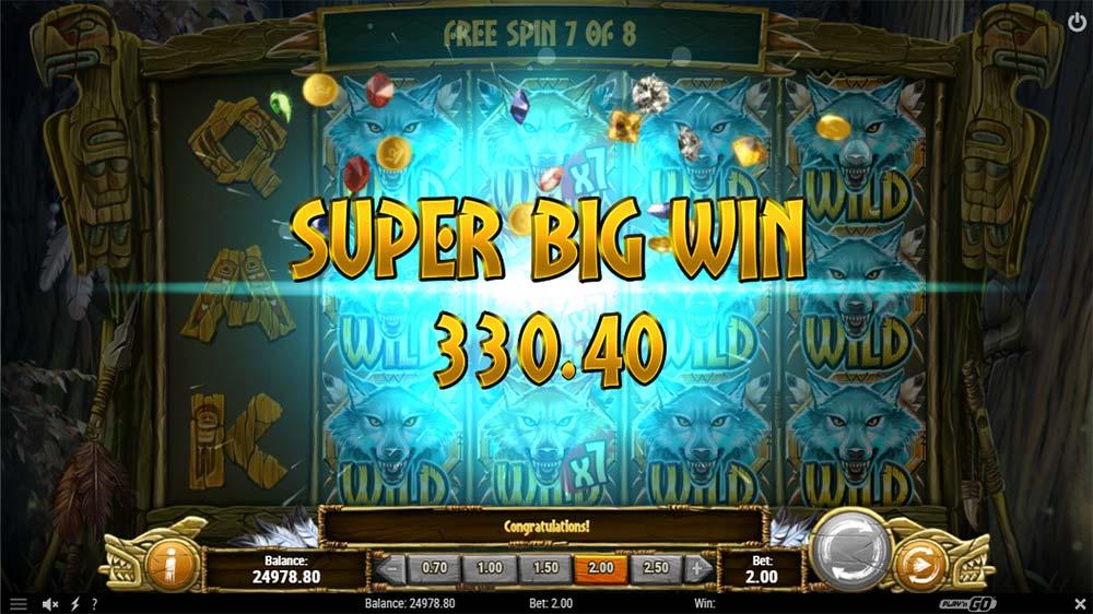 Coywolf Cash Slot - Super Big Win