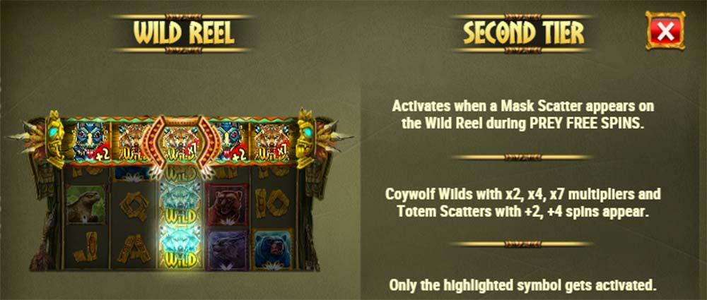 Coywolf Cash Slot - Wild Reel Feature