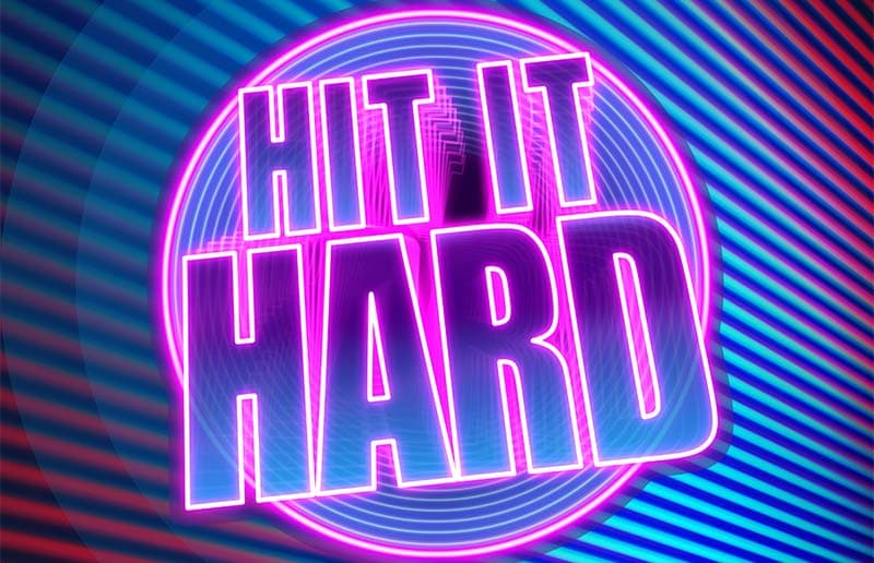 Hit it Hard Slot Logo