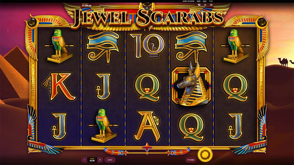 Jewel Scarabs Slot - Base Game