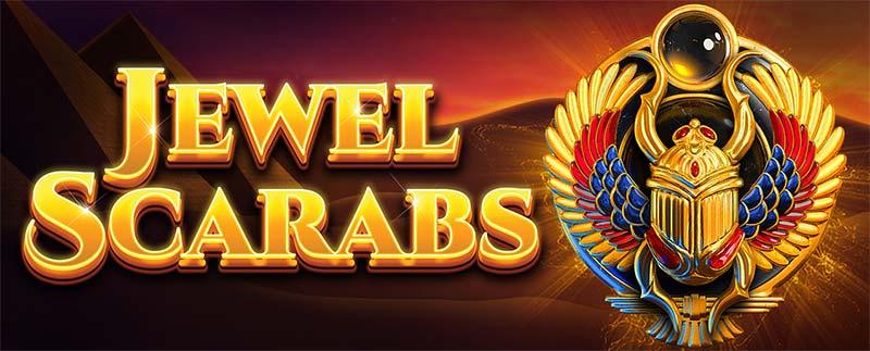 Jewel Scarabs Slot Logo