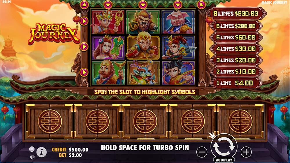 Magic Journey Slot - Base Game