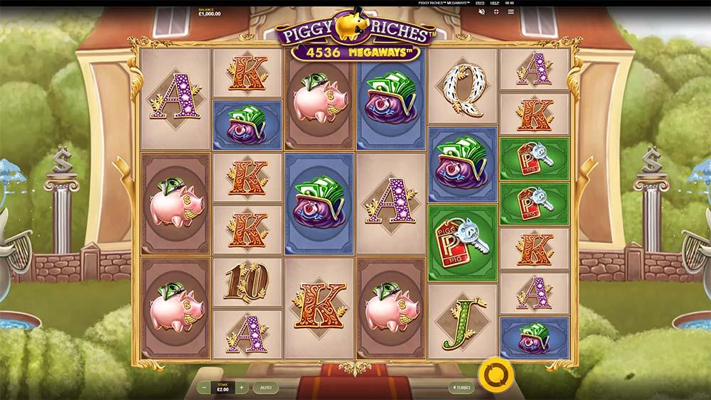 Piggy Riches Megaways Slot - Base Game