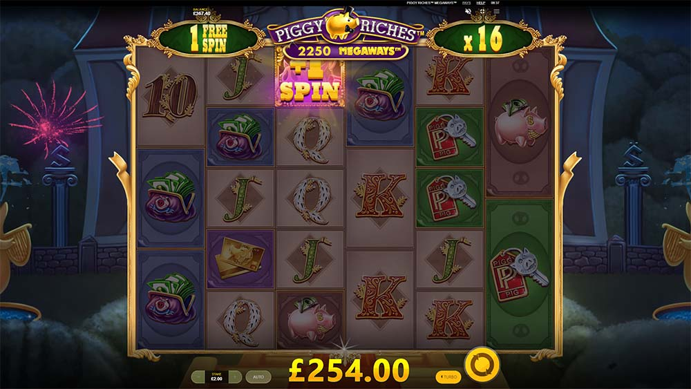Piggy Riches Megaways Slot - Extra Spin
