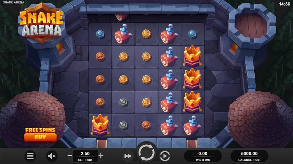 Snake Arena Slot - Base Game