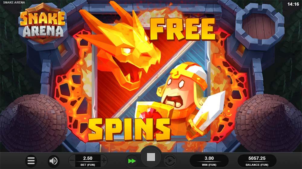 Snake Arena Slot - Free Spins